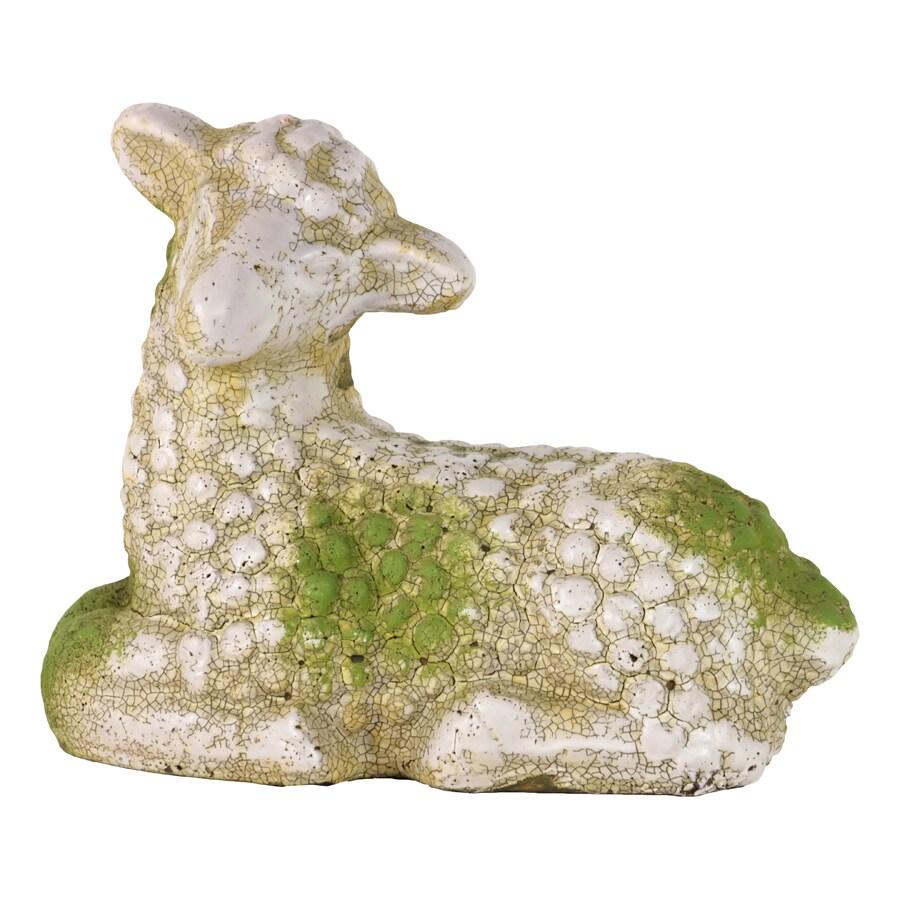 Moss Finish Stoneware Sheep