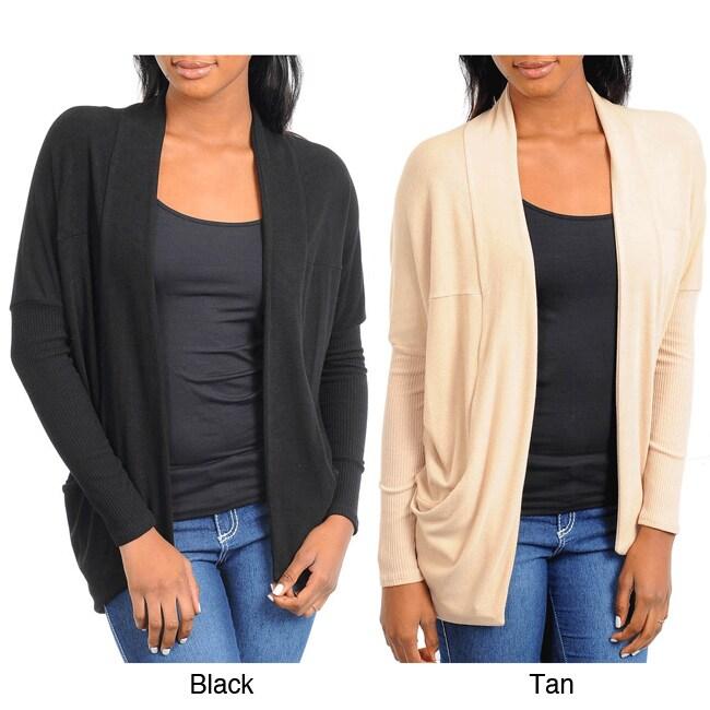 Stanzino Women's Open Front Sweater Top