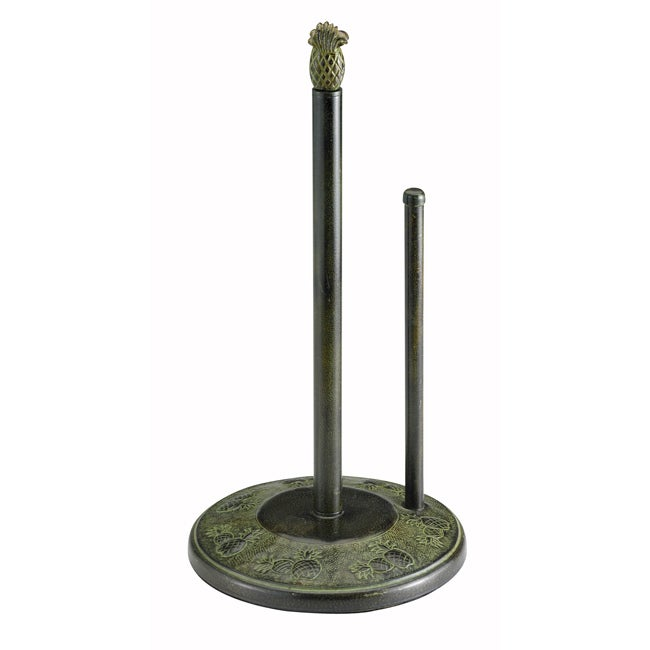 Old Dutch Pina Dark Green Standing Paper Towel Holder
