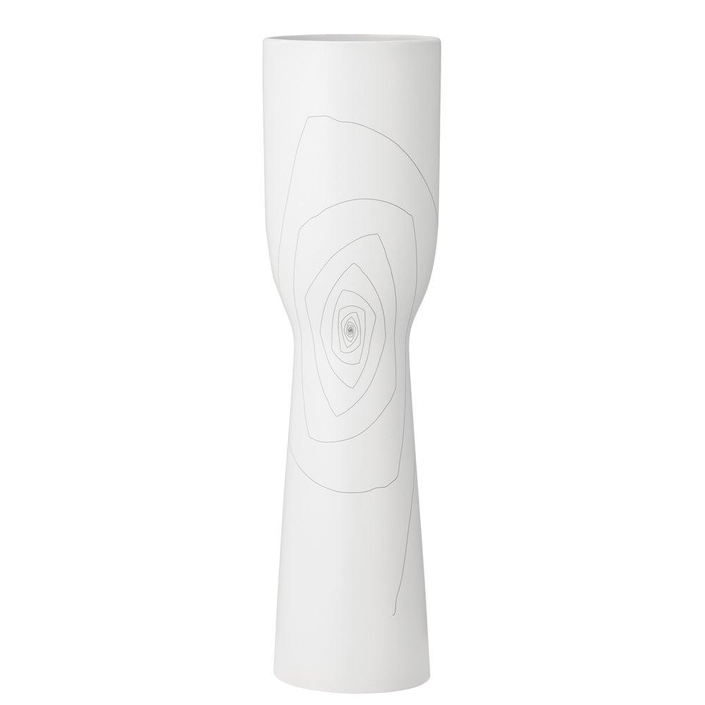 Large White 23.6-inch Brittany Chalice Vase