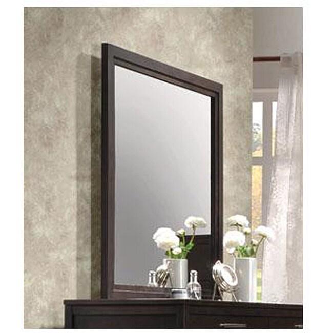 Boardwalk Wenge Finish Mirror