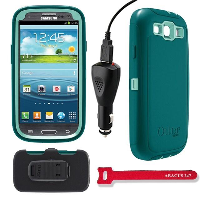 OtterBox Samsung Galaxy S3 Defender Protective Case Set