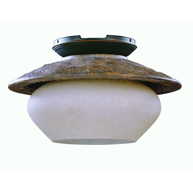 One Light Quarry Breeze Oil Rubbed Bronze Light Kit