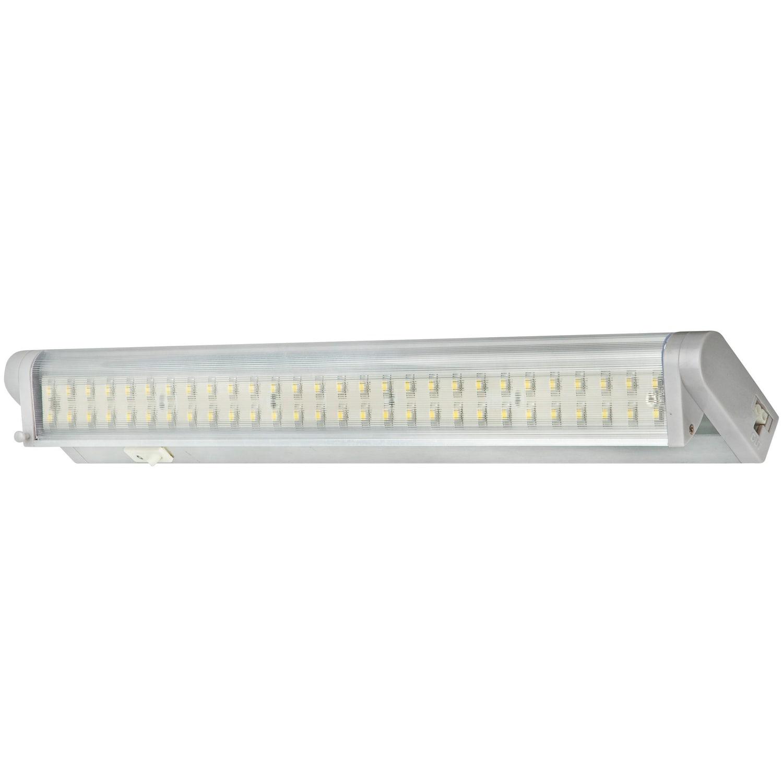 Satin Aluminum LED Undercabinet Swivel Light
