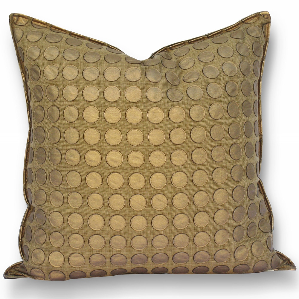 Love Game Gold Pillow