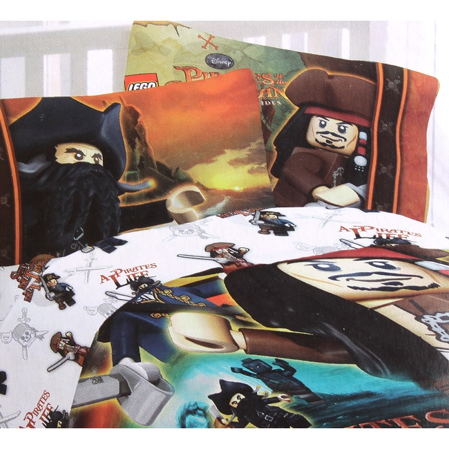 Lego Pirates 'Ships Away' Sheet Set