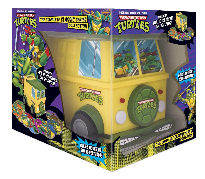 Teenage Mutant Ninja Turtles: Complete Classic Series Collection (DVD)