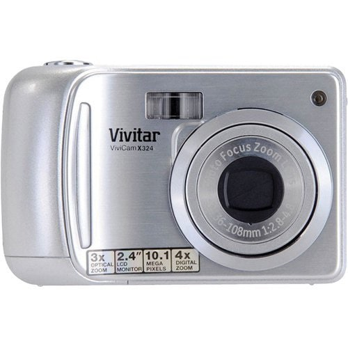 Vivitar VX324 10MP Silver Digital Camera