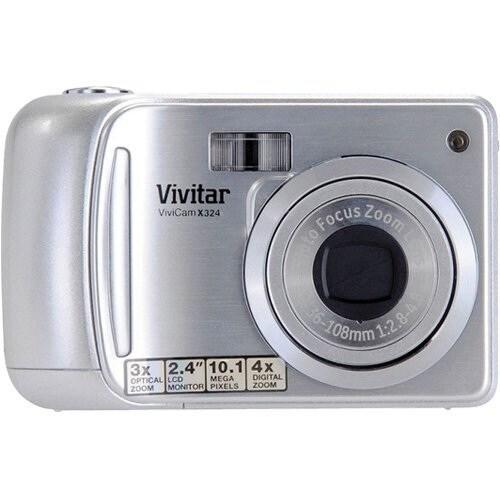 Vivitar VX324 10MP Silver Digital Camera
