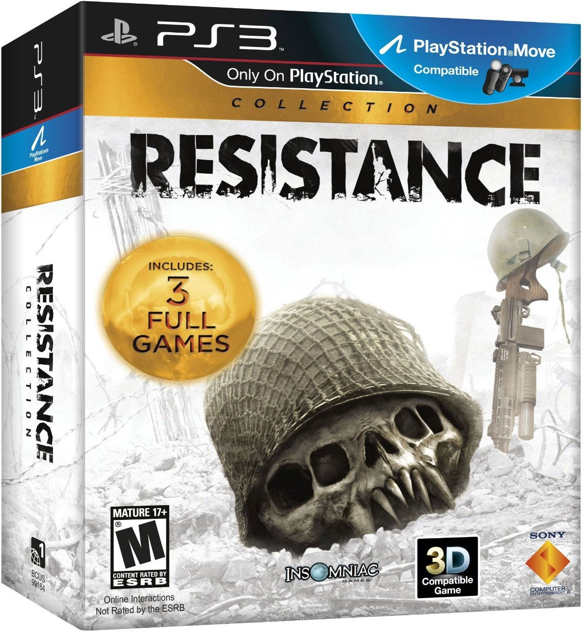 PS3- Resistance Trilogy Collection 3-Pack (3 Disc)