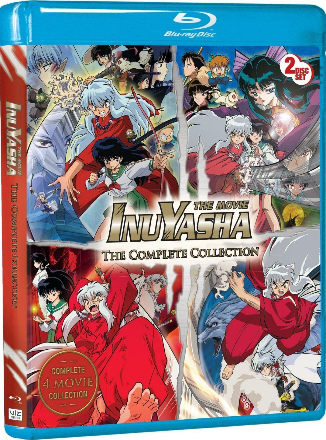 Inuyasha The Movie: The Complete Collection (Blu-ray Disc)