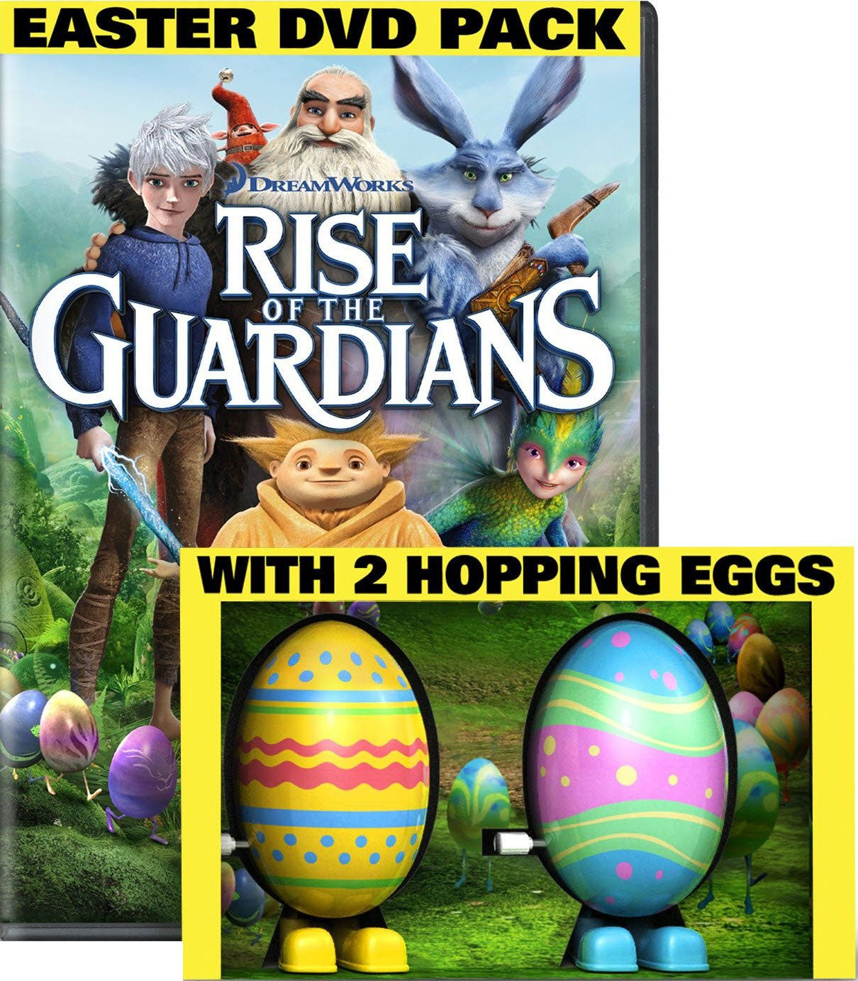 Rise of the Guardians with 2 Hopping Toy Eggs (DVD)