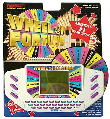 'Wheel of Fortune' Hand-held Game