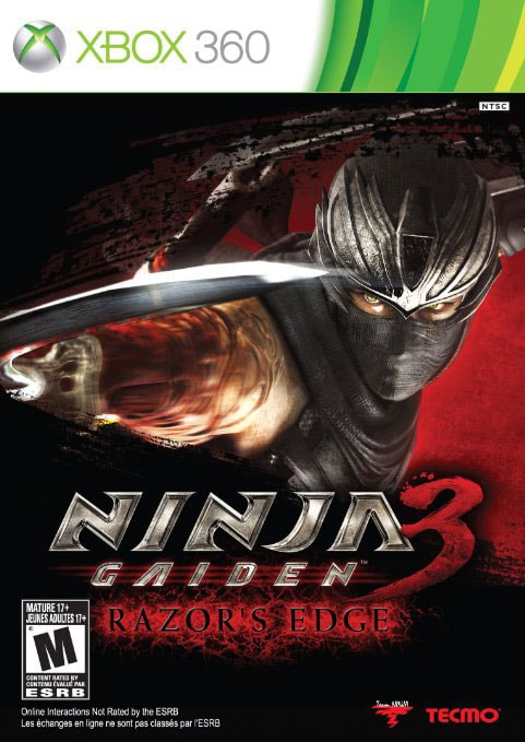 Xbox 360 - Ninja Gaiden 3: Razors Edge