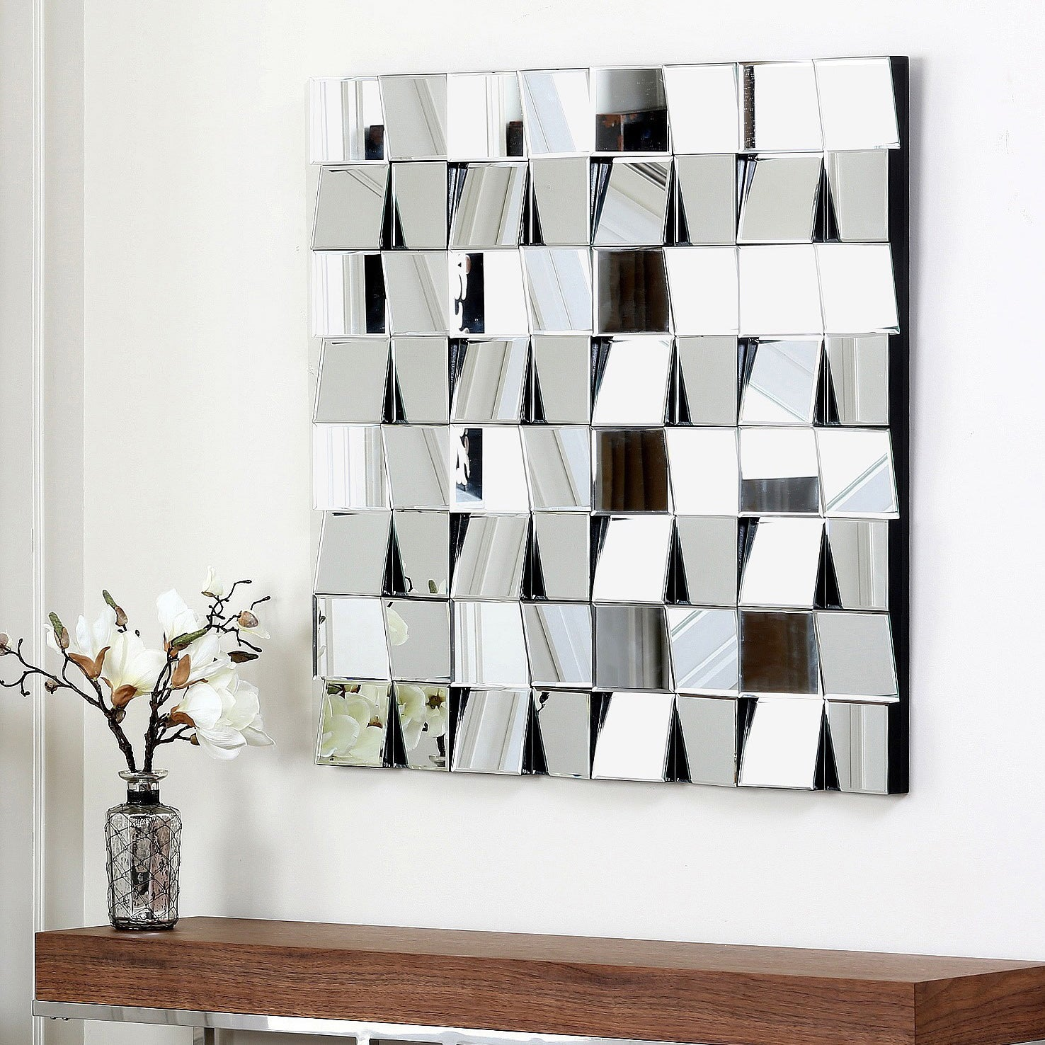 Abbyson Living Isabella Square Wall Mirror at Sears.com