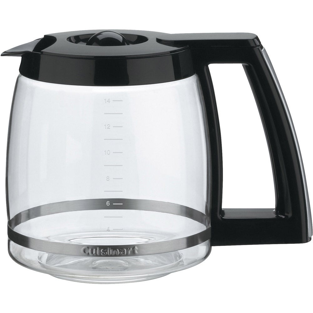Cuisinart Black 14 Cup Replacement Carafe 15594725