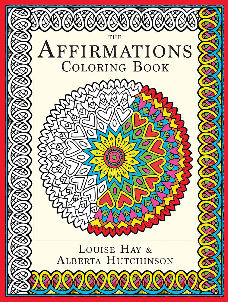 The Affirmations Coloring Book : The affirmations coloring book paperback