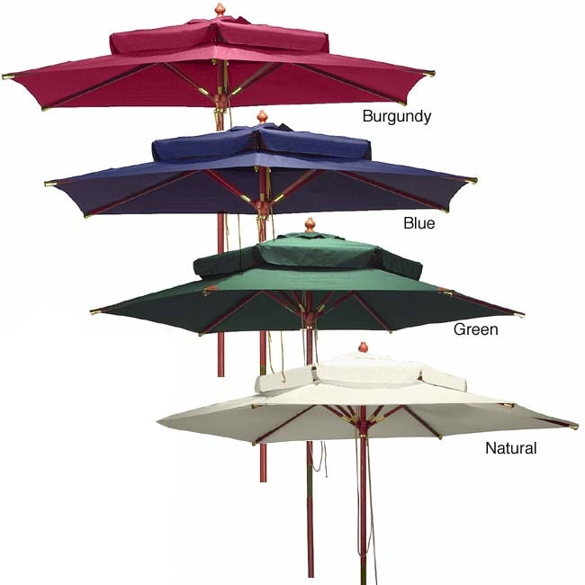 Two-tier Market Umbrella