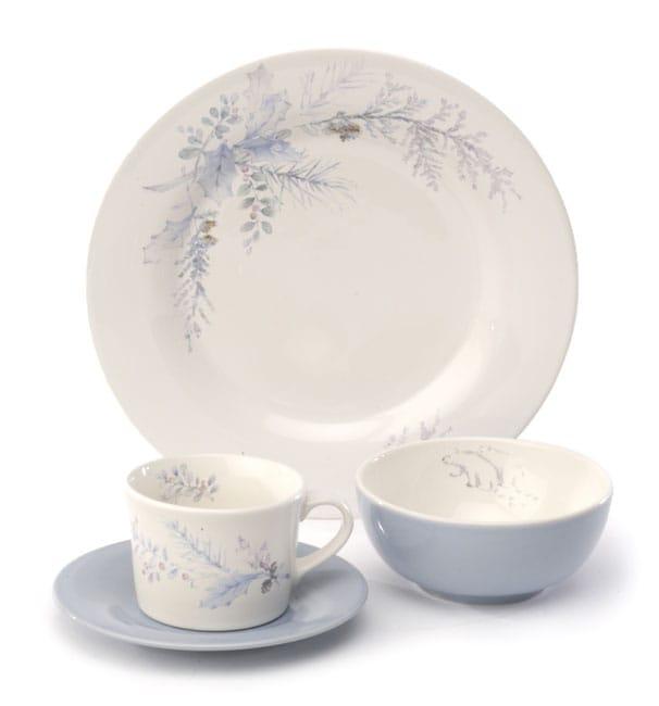 Pfaltzgraff Winter Frost 16-pc. Stoneware Dinnerware Set