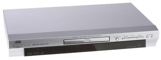 JVC XV-S502SL DVD player