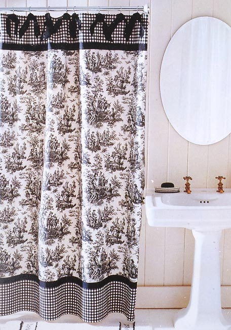 Waverly Country Life Shower Curtain Overstock Shopping
