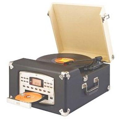 Crosley CR54CD Nostalgic Turntable/CD/AM/FM Radio