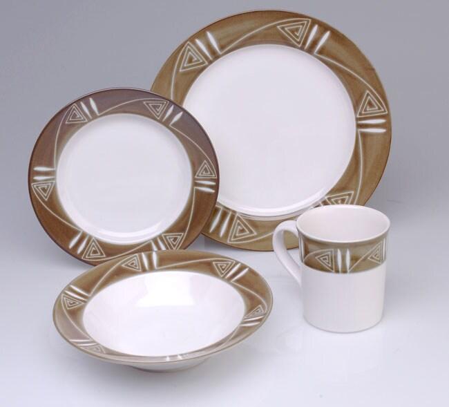 Studio Nova Tribal Arts 16 Pc Dinnerware Set 417172