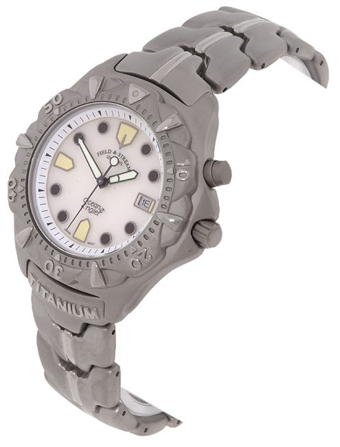 Field & Stream Ocean Angler Men's Titanium Watch