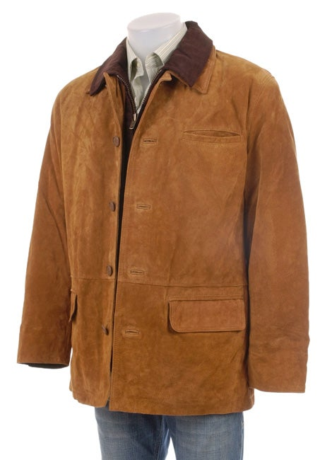Mens Faux Leather Jackets