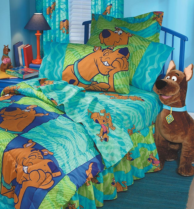 scooby doo thumbprints bed in a bag twin 425353