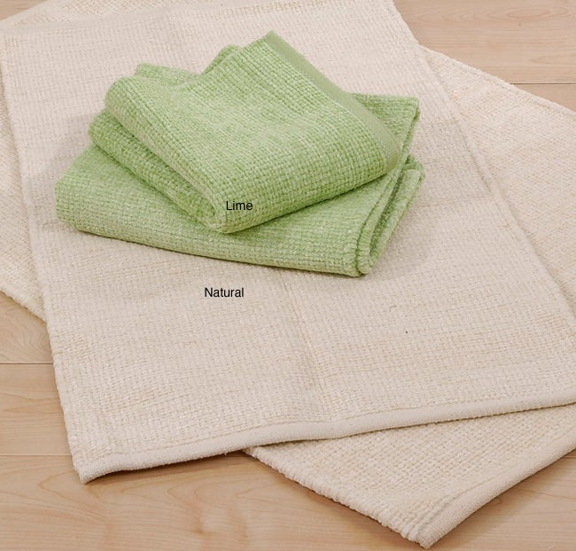 Classic Park. B. Smith Royal Chenille Bath Rugs (Lime - Set of 2)