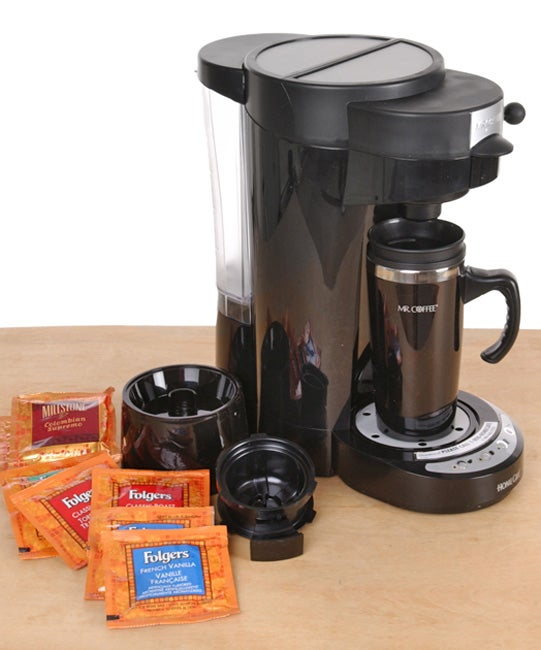 Mr coffee home cafe single serve coffee maker 429731 for Apartment therapy coffee maker