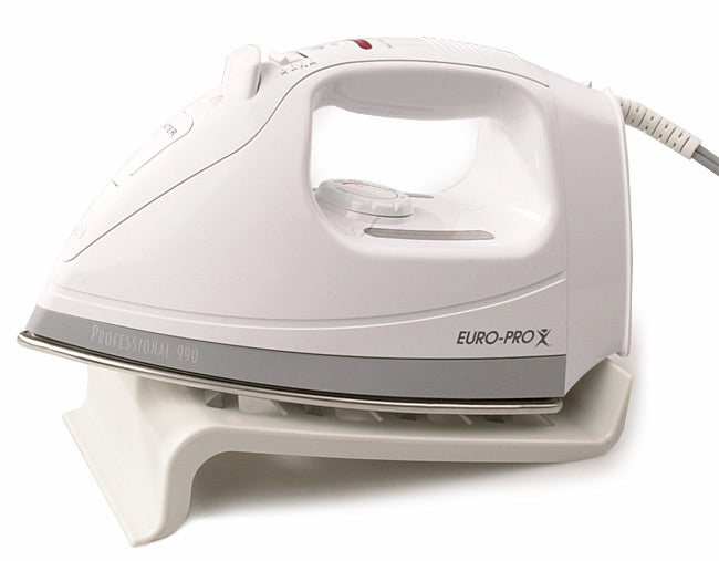 Euro pro professional steam iron overstock shopping for Houzz pro account cost