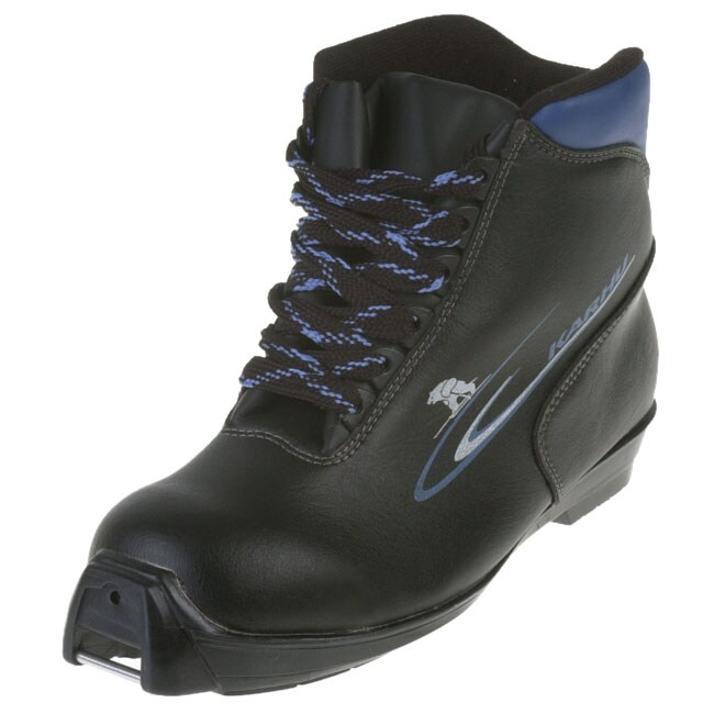 Black/Blue Ascent NNN Cross Country Ski Boots (Unisex)