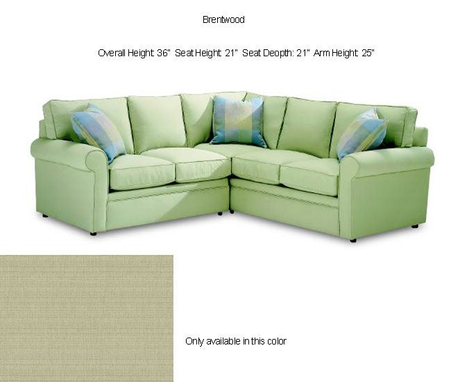 Astoria light green sectional sofa 80000469 overstock for Light green sectional sofa
