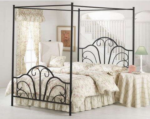 Dover Twin Size Canopy Bed