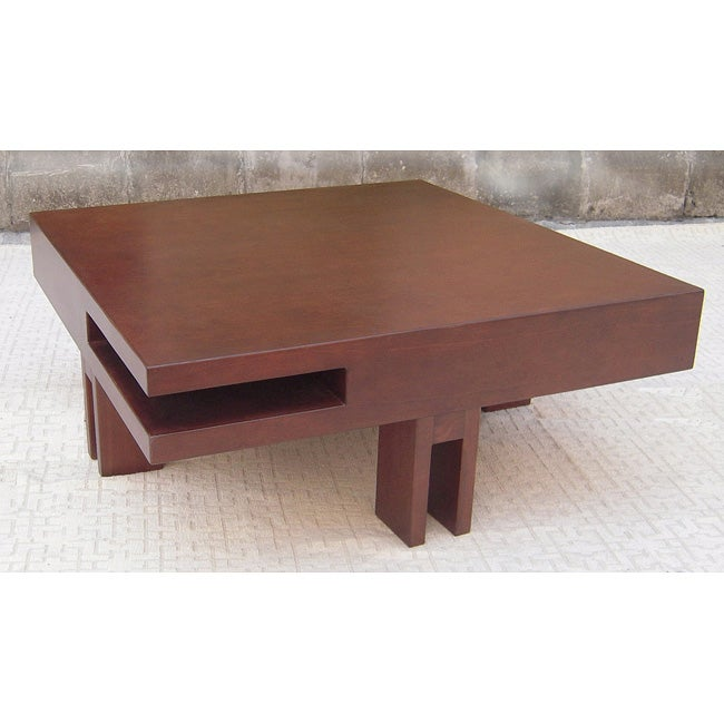 Block Walnut Coffee Table 80001764 Shopping Great Deals On Coffee Sofa