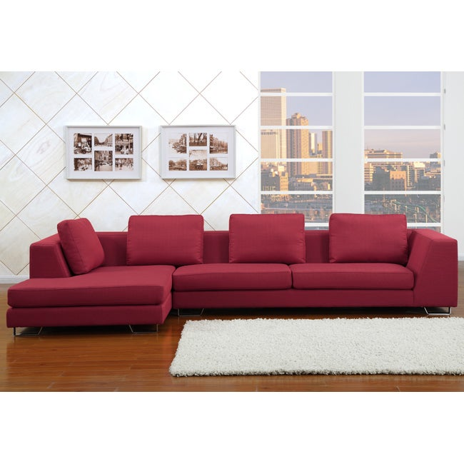 Rochester Ruby Sectional Sofa
