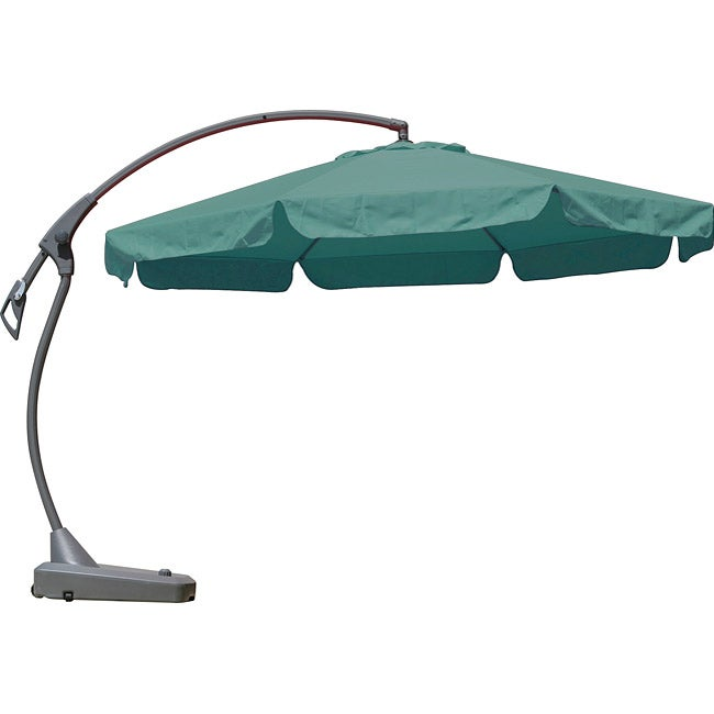 Cantilever 10 foot Teal Patio Umbrella