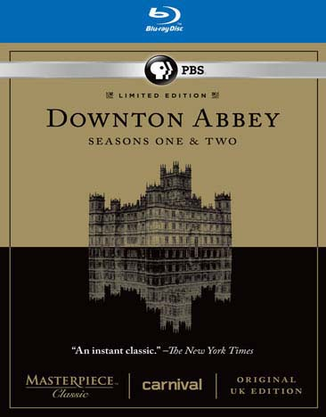 Masterpiece Classic: Downton Abbey Seasons One & Two Set (Blu-ray Disc)