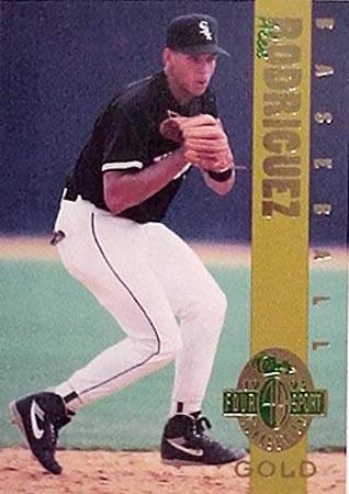 Alex Rodriguez 1993 Classic 4 Sport Gold Rookie