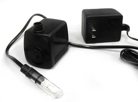 Deluxe 12-volt Fountain Pump/Ultra Mood Light