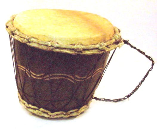 Short Djembe Drum (Ghana)