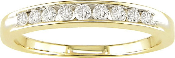 Eziba Collection Miadora 14k Gold 1/4ct TDW Round Diamond Anniversary Ring at Sears.com