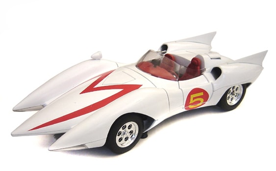 Speed Racer Mach 5 - 1:18 Scale Model Car