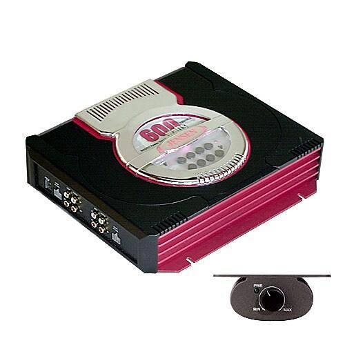 Jensen 600-watt 4-channel Amplifier (Refurbished)