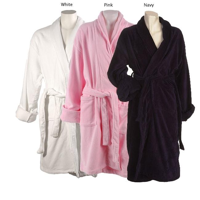 Oversized Terrycloth Bath Robe