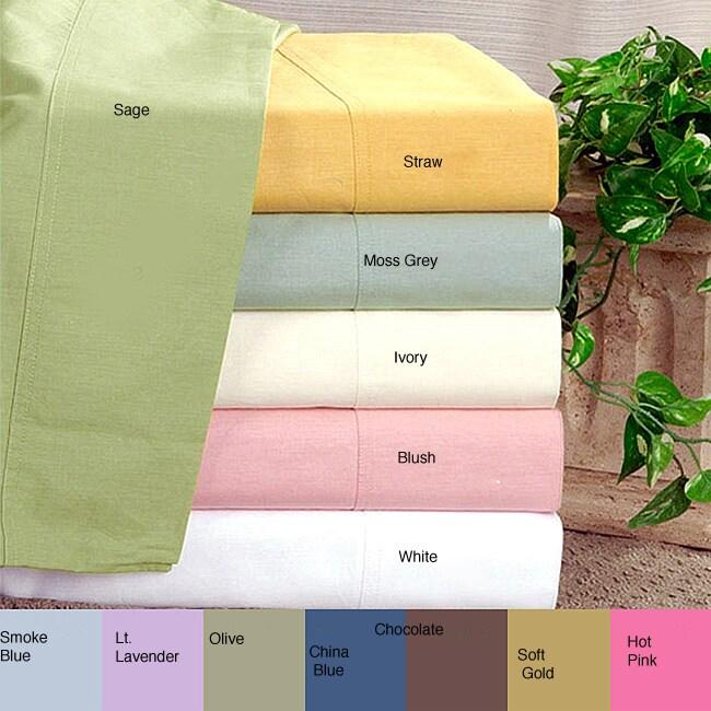 Egyptian Cotton 200 Thread Count Sheet Set