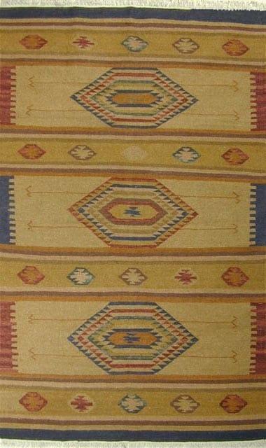 Tahoe Wool Flat Weave Rug (4' x 6')