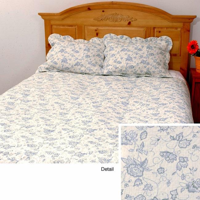 Veronica Cotton Patchwork Quilt Set
